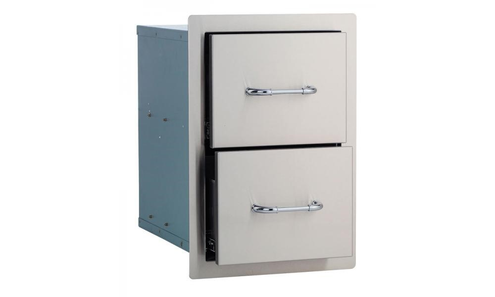 PIC - BULL DOUBLE DRAWER